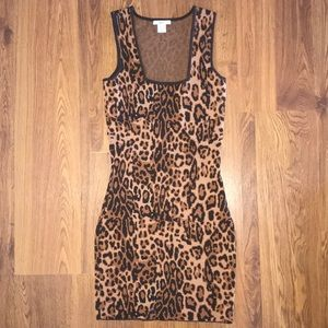 Dresses & Skirts - Leopard bodycon dress